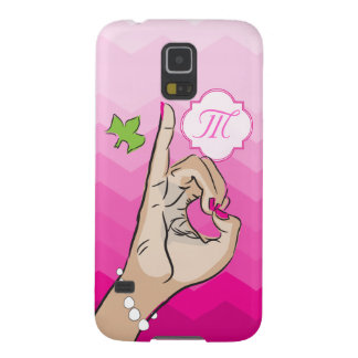 Sorority Life pink and green Galaxy S5 Case