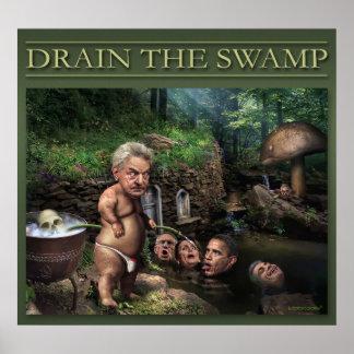 Soros In The Secret Garden Poster