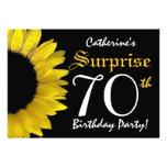 SORPRENDA el 70.o girasol negro y amarillo del cum Comunicado Personal