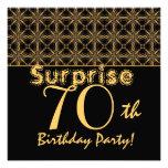 SORPRENDA el 70.o oro del cumpleaños y el vintage  Comunicado