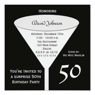 Sorprenda la 50.a invitación de la fiesta de