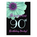 SORPRENDA la 90.a margarita de la púrpura del Invitaciones Personales