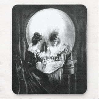 Sorpresa 1 del cráneo: Halloween Mousepad Alfombrilla De Ratón