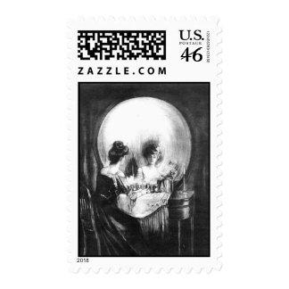 Sorpresa 1 del cráneo: Sello de Halloween 44c