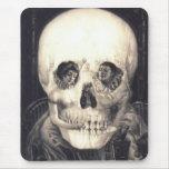 Sorpresa 2 del cráneo: Halloween Mousepad Tapete De Ratones