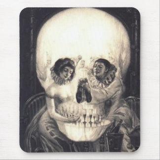 Sorpresa 2 del cráneo: Halloween Mousepad Alfombrilla De Ratón