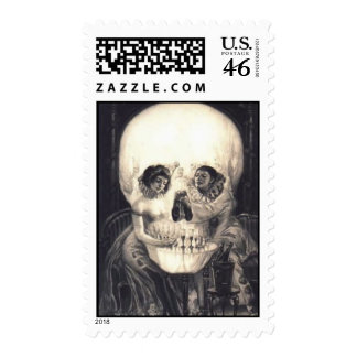 Sorpresa 2 del cráneo: Sello de Halloween 44c