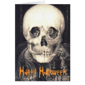Sorpresa 2 del cráneo: Tarjeta de Halloween
