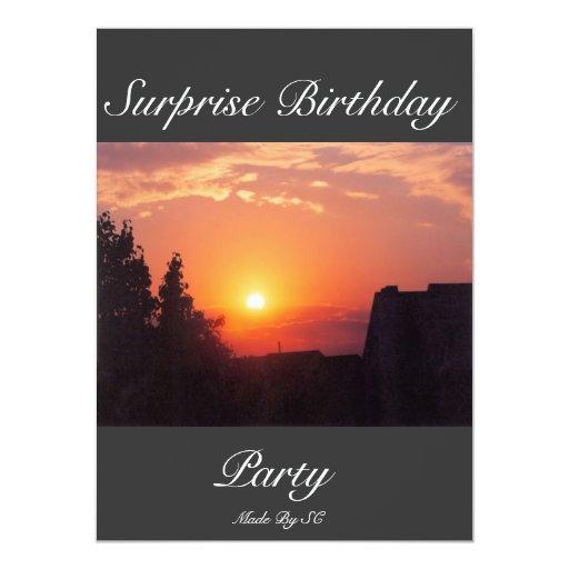 sorpresa birthhday comunicado