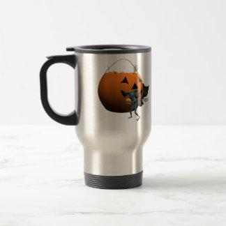 Sorpresa de Halloween Taza Térmica