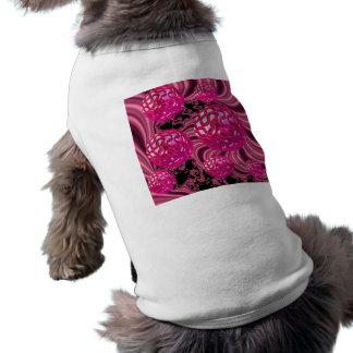 Sorpresa de la frambuesa, magenta color de rosa playera sin mangas para perro