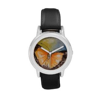 Sorpresa de la mariposa relojes de mano