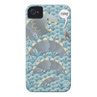 sorpresa de la serpiente (omg) carcasa para iPhone 4 de Case-Mate