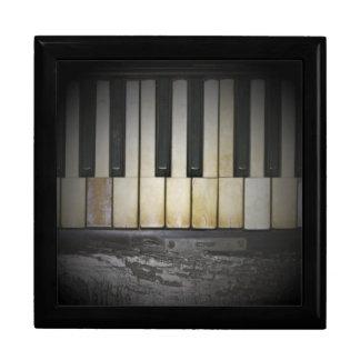 Sorpresa de las llaves del piano cajas de joyas