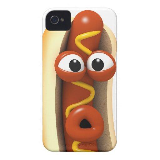 ¡sorpresa del perrito caliente 3d! iPhone 4 protector