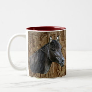Sorraia Spanish Mustang Stallion Drinking Mug