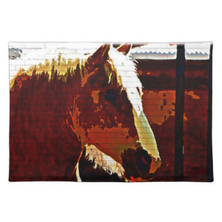 Sorrel Horse In Profile Placemat
