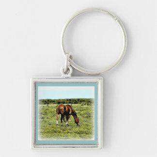 Sorrel Horse Keychain