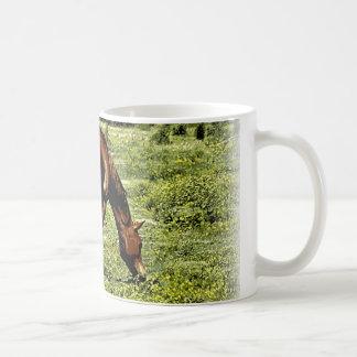 Sorrel Horse Classic White Coffee Mug