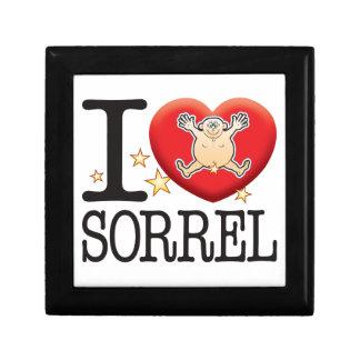 Sorrel Love Man Jewelry Box