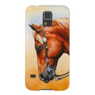 Sorrel Western Pleasure Quarter Horse Galaxy S5 Case