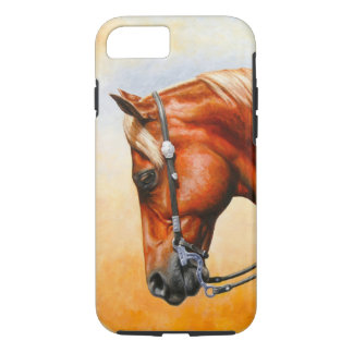 Sorrel Western Pleasure Quarter Horse iPhone 8/7 Case