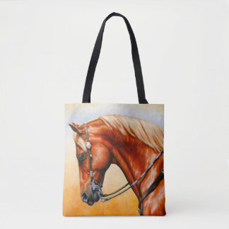 Sorrel Western Pleasure Quarter Horse Tote Bag