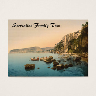 Sorrento by the Sea, Naples, Campania, Italy Business Card