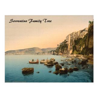 Sorrento by the Sea, Naples, Campania, Italy Post Card
