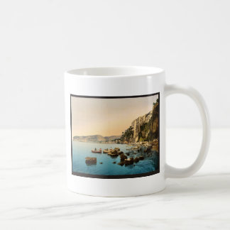 Sorrento by the sea, Naples, Italy classic Photoch Classic White Coffee Mug