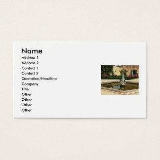 Sorrento, Italy Business Card