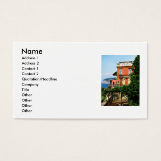 Sorrento, Italy, Business Cards