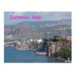 Sorrento italy postcard