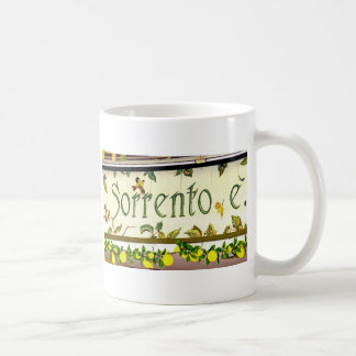 Sorrento,  Italy,  Sign Classic White Coffee Mug