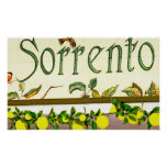 Sorrento, Italy, Sign Poster