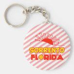 Sorrento, la Florida Llavero