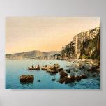 Sorrento por obra clásica Photoch del mar, Nápoles Impresiones