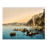 Sorrento por obra clásica Photoch del mar, Nápoles Postales