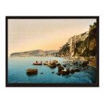 Sorrento por obra clásica Photoch del mar, Nápoles Tarjeta Postal