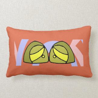 Sorrow eyes lumbar pillow