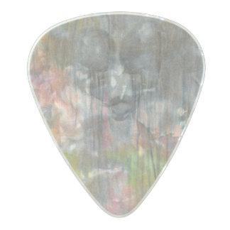 """Sorrow Falls"" Message guitar pick by CFW"