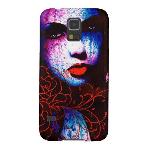 Sorrow - Pop Art Portrait Case For Galaxy S5