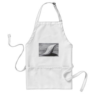 Sorrowful Mother on her way home (symbolism art) Adult Apron