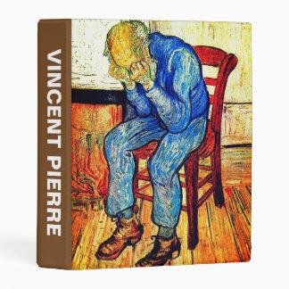 Sorrowing Old Man By Van Gogh Mini Binder