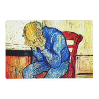 Sorrowing Old Man By Van Gogh Placemat