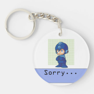 Sorry 2 Double-Sided round acrylic keychain