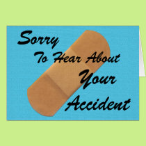 Sorry About Your Accident Card