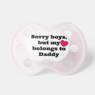 Sorry Boys BooginHead Pacifier