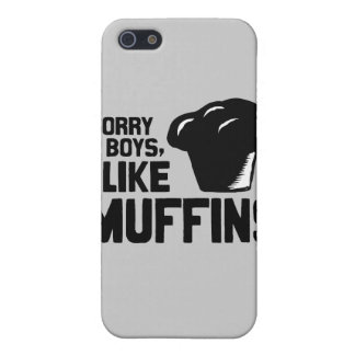SORRY BOYS I LIKE MUFFINS -.png iPhone 5 Cover