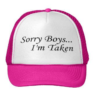Sorry Boys, I'm Taken Trucker Hat